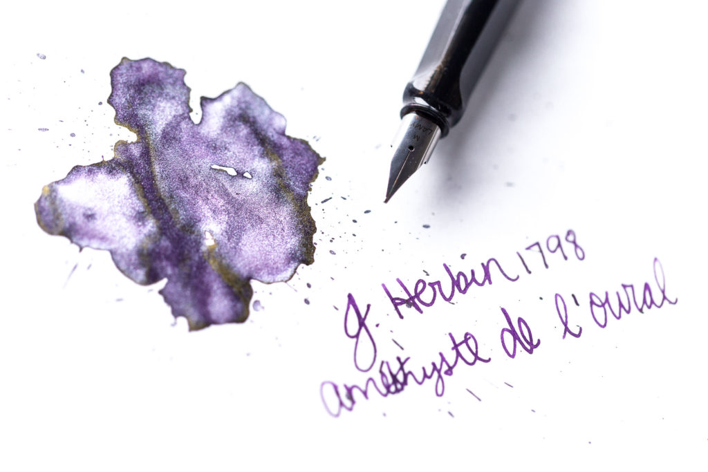 J.Herbin Amethyste de l'Oural Ink Review