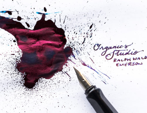 Organics Studio: Ralph Waldo Emerson (Twilight Blue) Ink Review