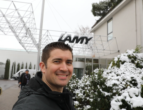 Brian Goulet's Trip To LAMY Germany