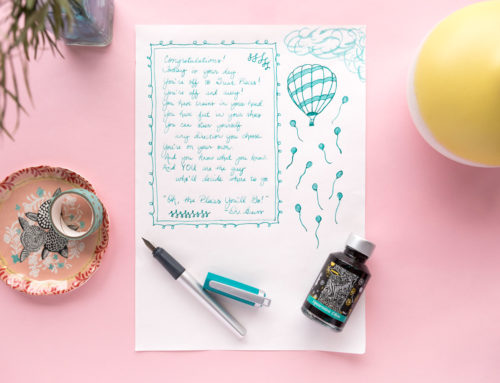 Diamine Spearmint Diva and a LAMY Nexx M: Monday Matchup #173