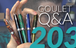 Goulet Q and A - 203