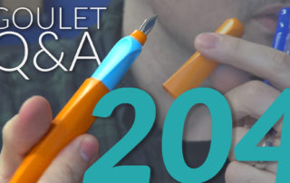 Goulet Q and A - 204