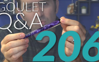 Goulet Q and A - 206