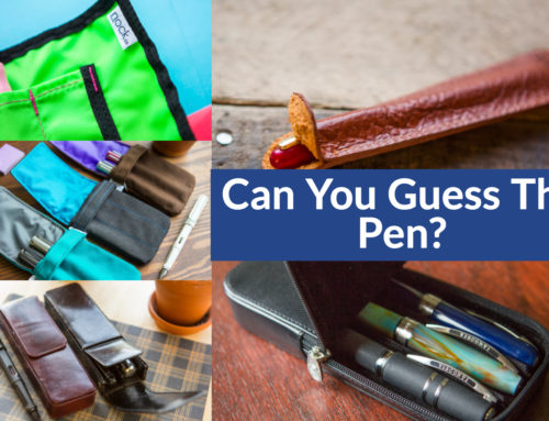 Can You Guess The Pen?