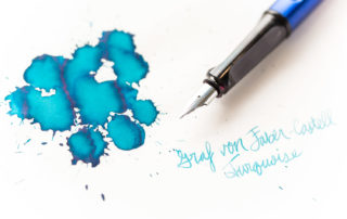 Graf von Faber-Castell Turquoise Ink Review
