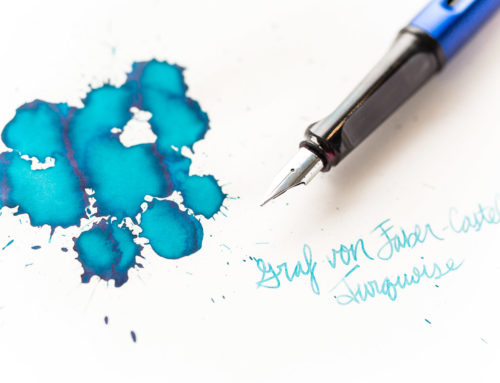 Graf von Faber-Castell Turquoise: Ink Review