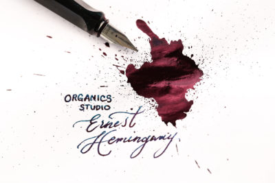 Review of Organics Studio Ernest Hemingway ink