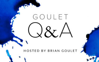 Goulet Q and A
