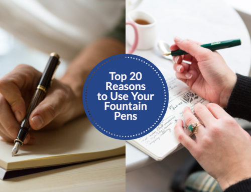 Top 20 Ways to Use Your Fountain Pens, Chosen By You!