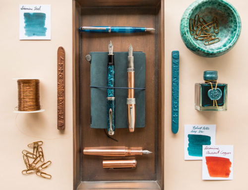 Thursday Things: Teal and Copper