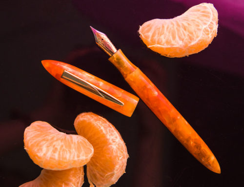 Tequila Sunrise, Edison Nouveau Premiere Summer 2018 Special Edition Fountain Pen