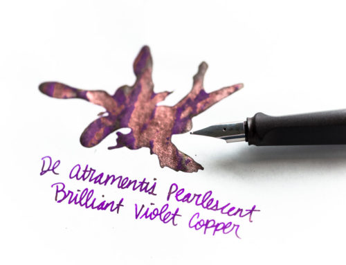 De Atramentis Brilliant Violet Copper: Ink Review