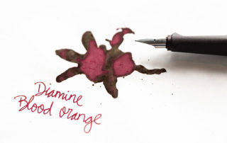 A review of Diamine Blood Orange ink