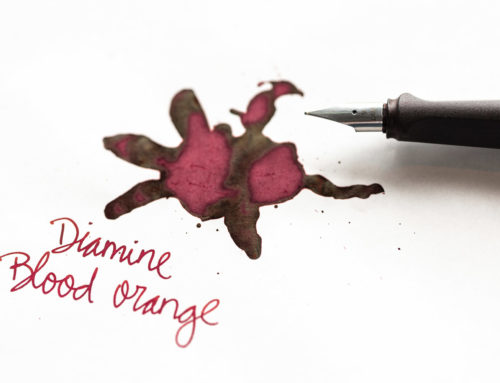 Diamine Blood Orange: Ink Review