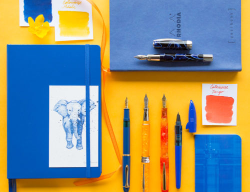 Thursday Things: Cobalt & Marigold