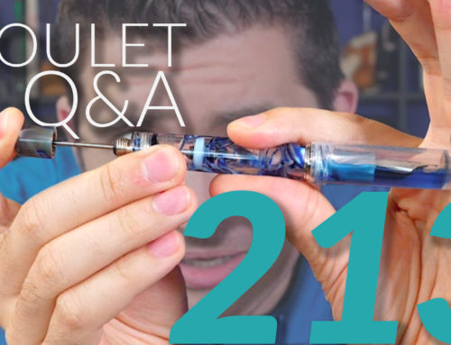 Goulet Q&A Episode 213: New GouletPens.com, Oblique Nibs, and Brian's Latest Books