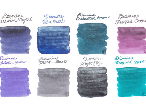 Build Your Favorite Ink Sample Package Set: Shading, Sheening, and Shimmer
