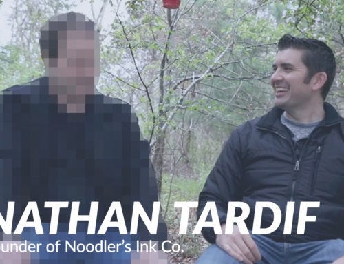 Goulet Guests: Nathan Tardif, Founder of Noodler's Ink Co.