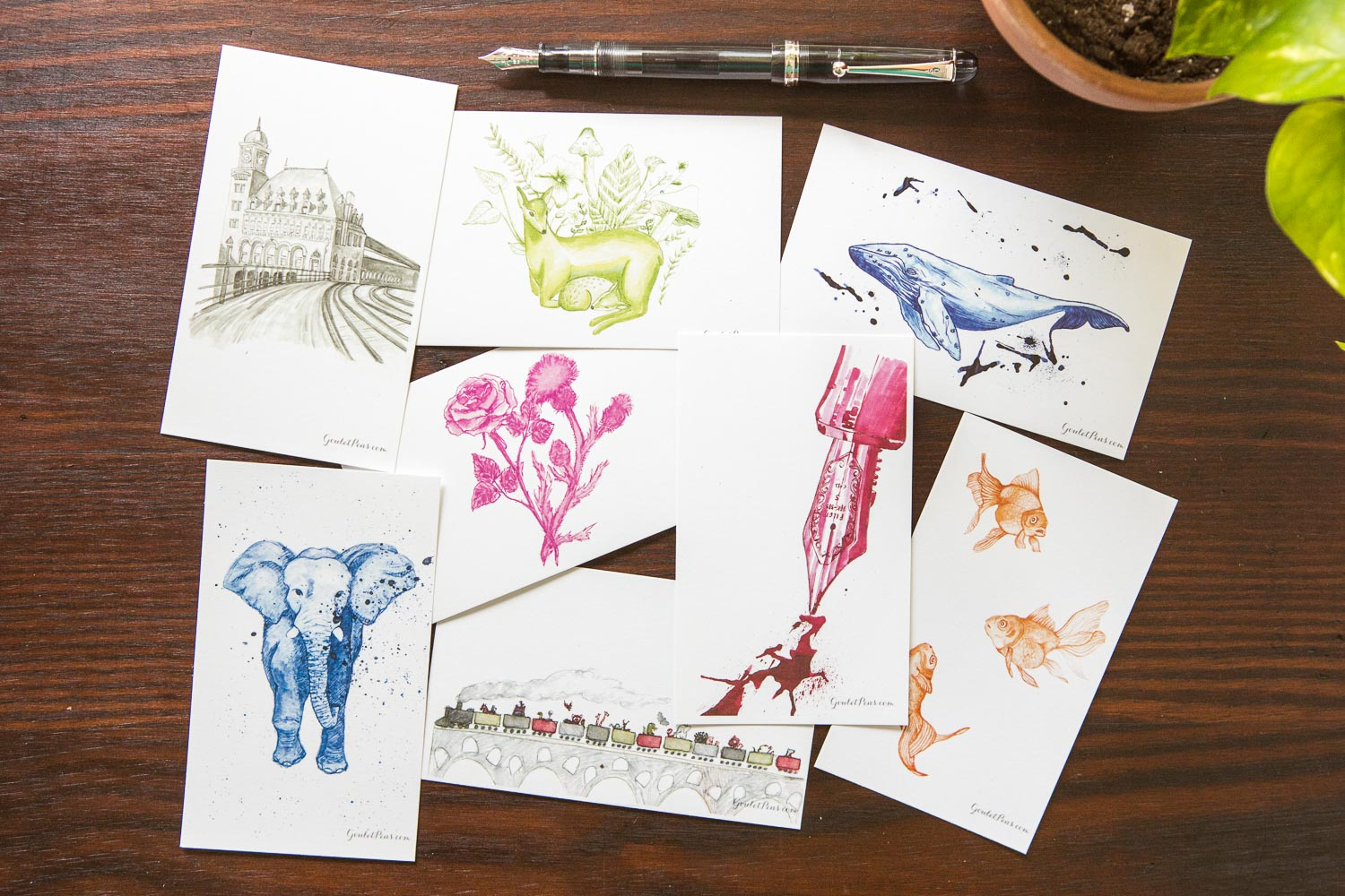 Goulet Note Cards - Assorted