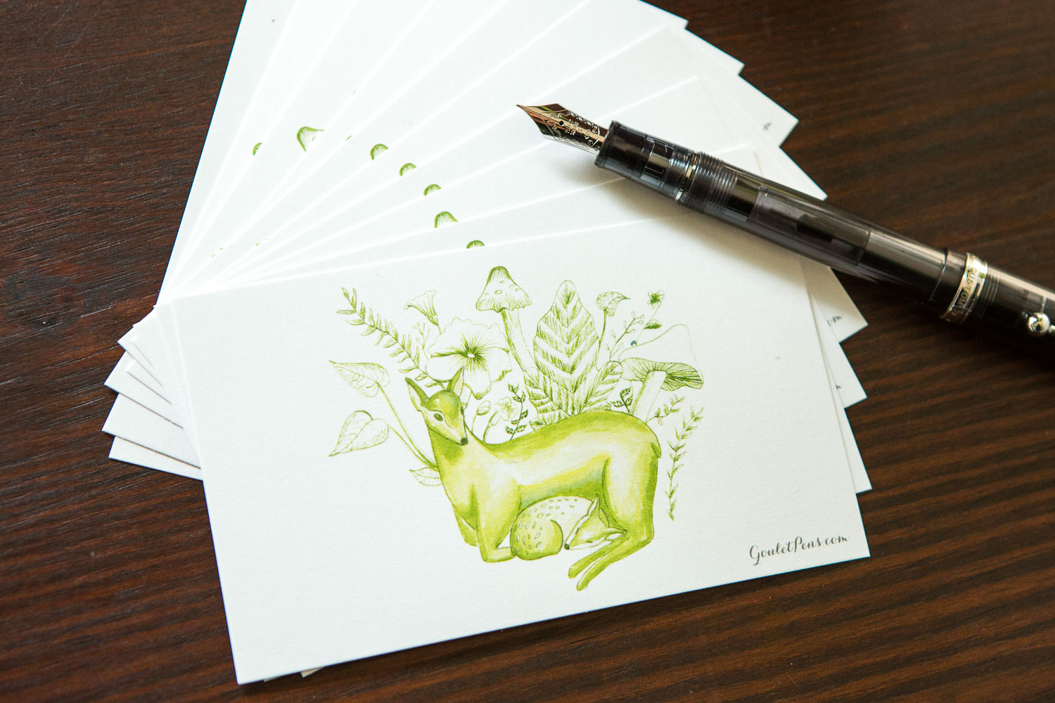 Goulet Note Cards - Deer