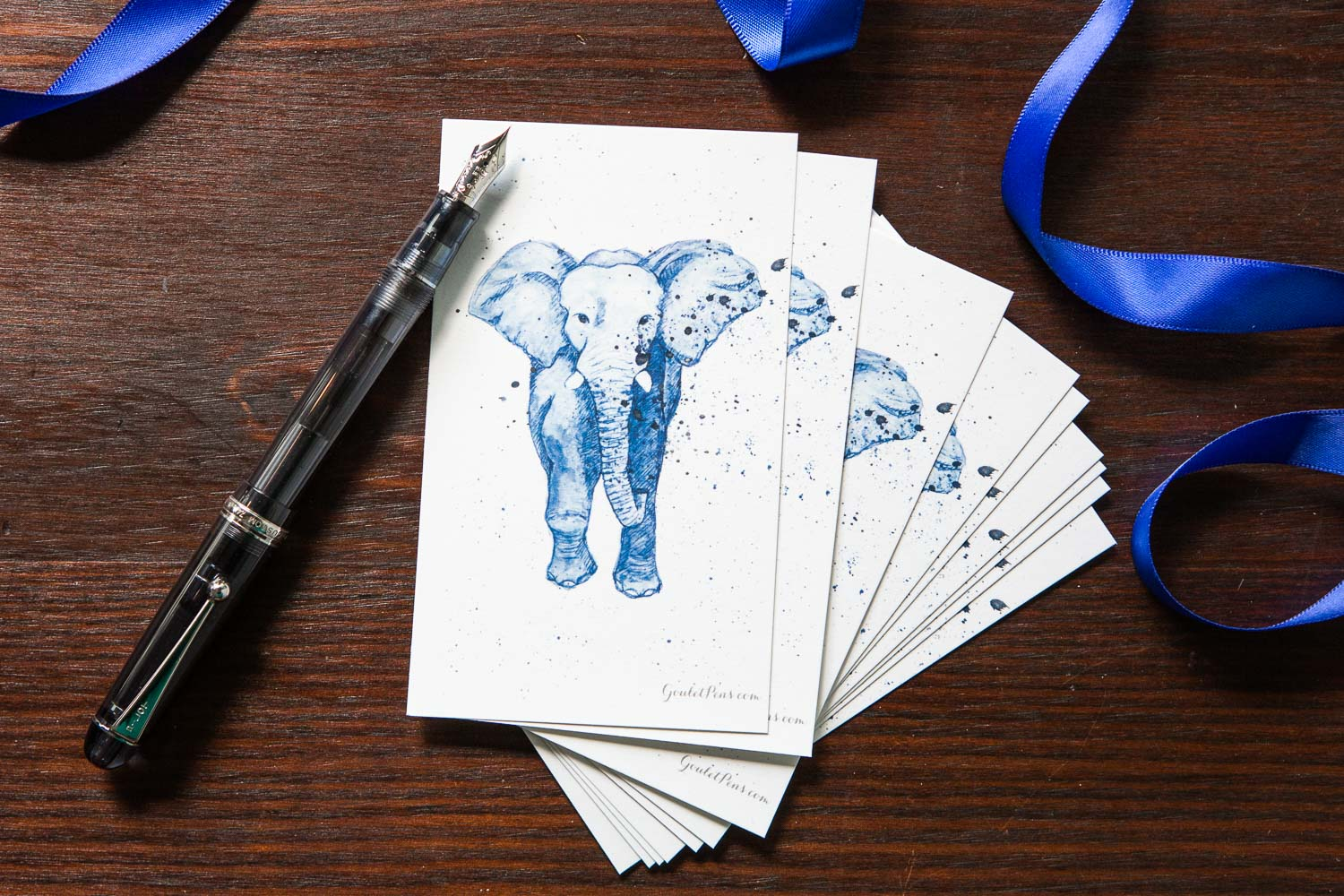 Goulet Note Cards - Elephant