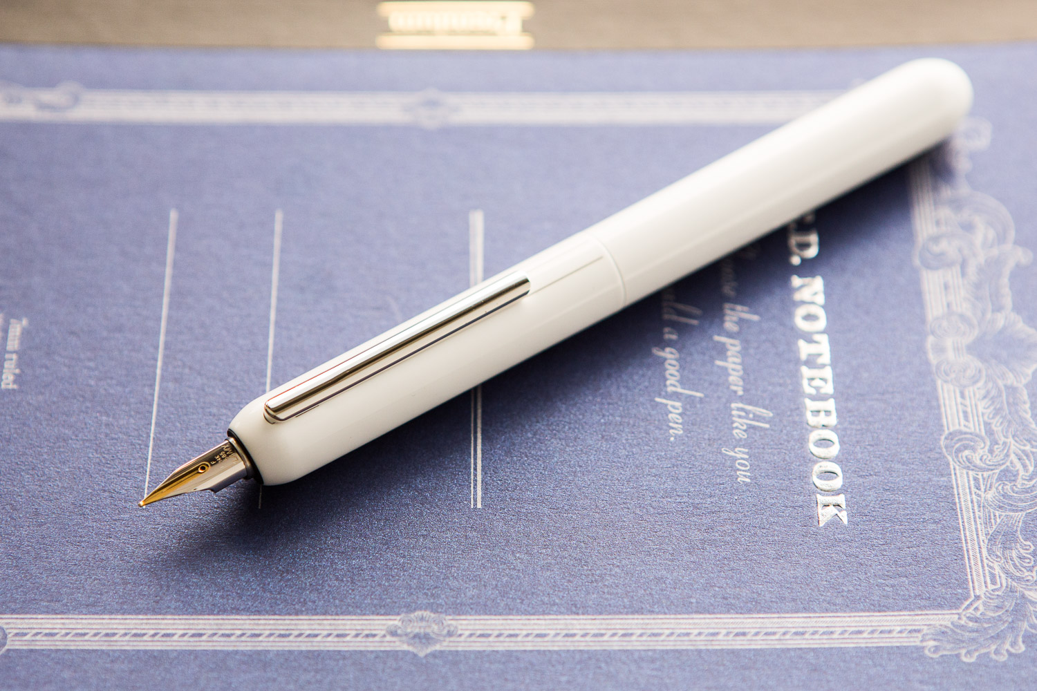 Lamy Dialog Fountain Pen- White