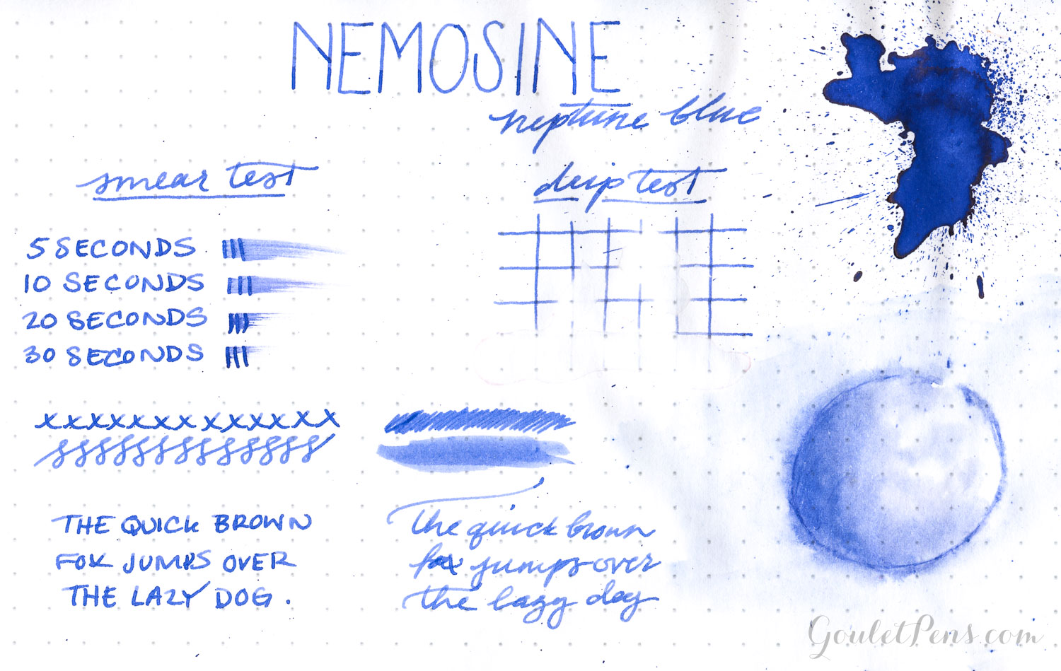 Nemosine Ink - Neptune Blue