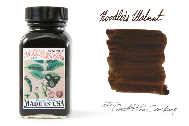 Noodler's Walnut Fountain Pen Ink