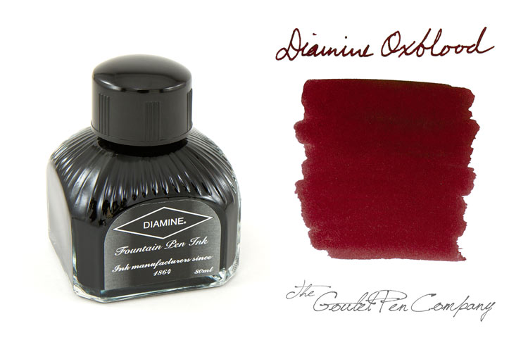 Diamine Oxblood Fountain Pen Ink