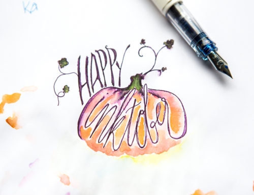 Inktober Inspiration: Drawings from the Goulet Pens Team