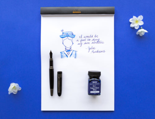 Monteverde DC Supershow Blue with a Monteverde Mountains of the World Black Mountain: Monday Matchup #195