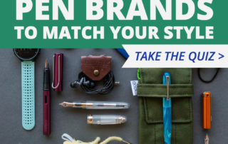 Take our quiz to find the Goulet pen brand we suggest to match your own personal style.