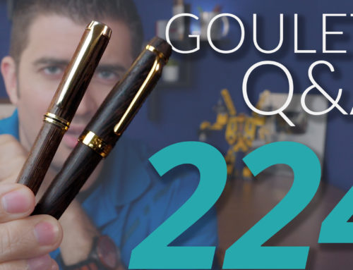 Goulet Q&A Episode 224: How Special Editions Happen and Brian's Current Daily Carry Pens