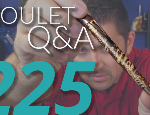 Goulet Q&A Episode 225: How Pens Should Write, Modded Flex Nibs, and Are Videos Important?