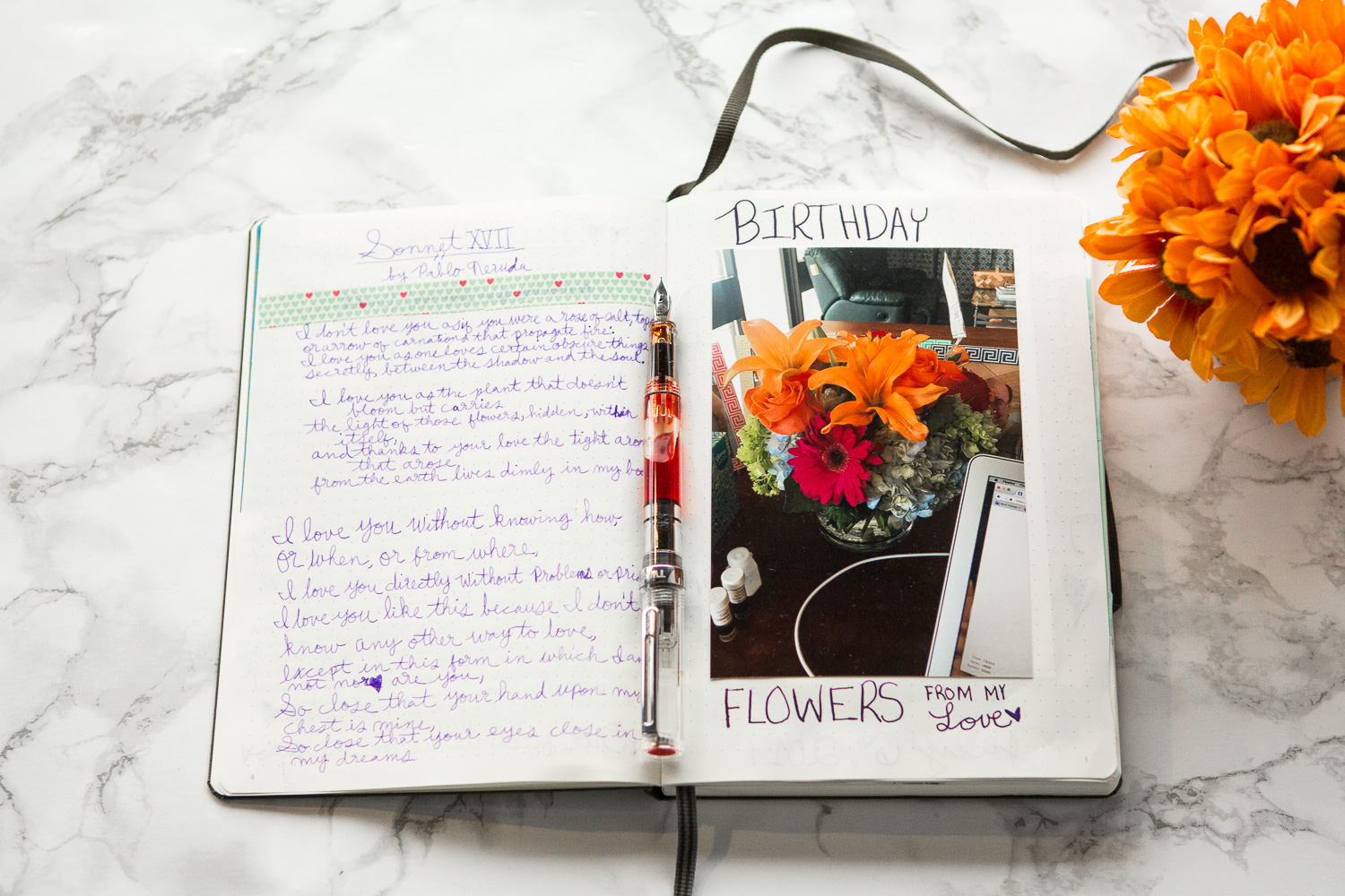 5 Simple DIY Gift Ideas with fountain pens and notebooks.