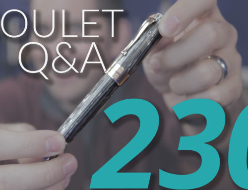 Goulet Q&A Episode 230: Fountain Pen Day, Nib Repair, and GOAT Pen and Ink of Goulet