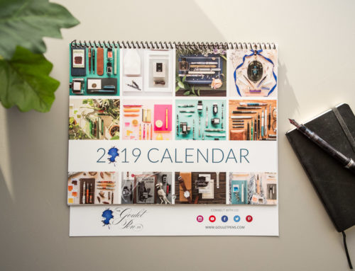 The 2019 Goulet Fountain Pen Calendar is Here!
