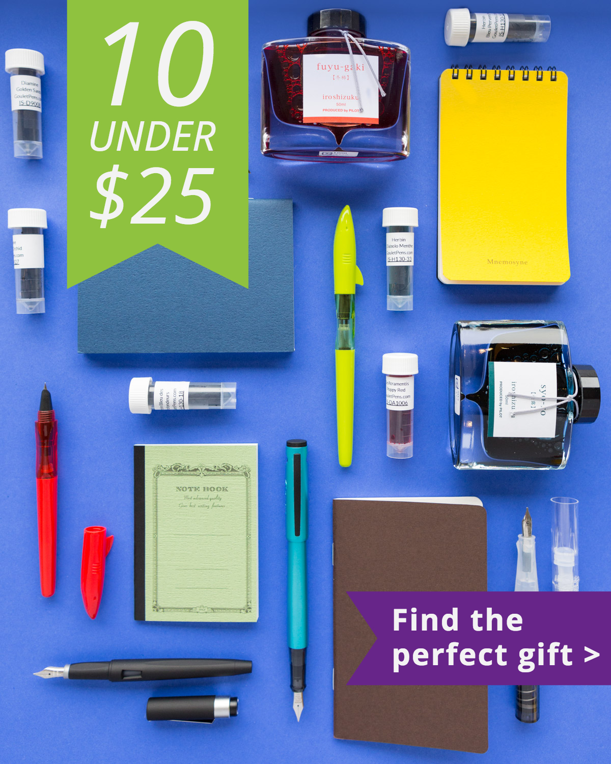 10 Great Gifts Under $25 – Goulet Pens Blog
