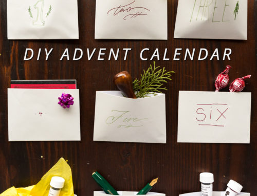 Easy Steps to Create Your Own Fountain Pen Advent Calendar