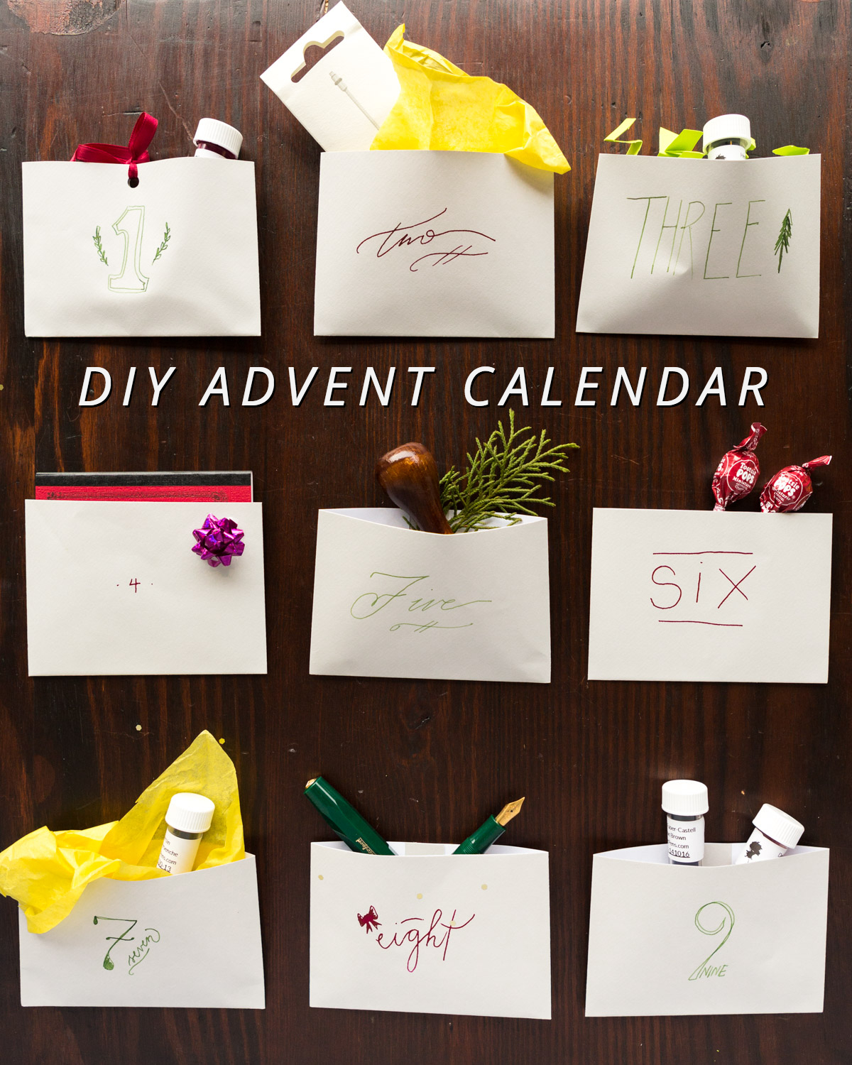easy steps to create your own fountain pen advent calendar goulet