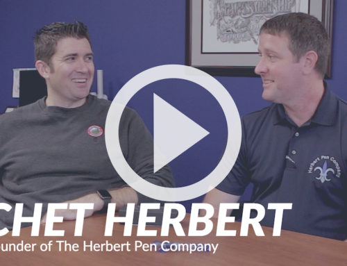 Goulet Guests: Chet Herbert, Founder of The Herbert Pen Company