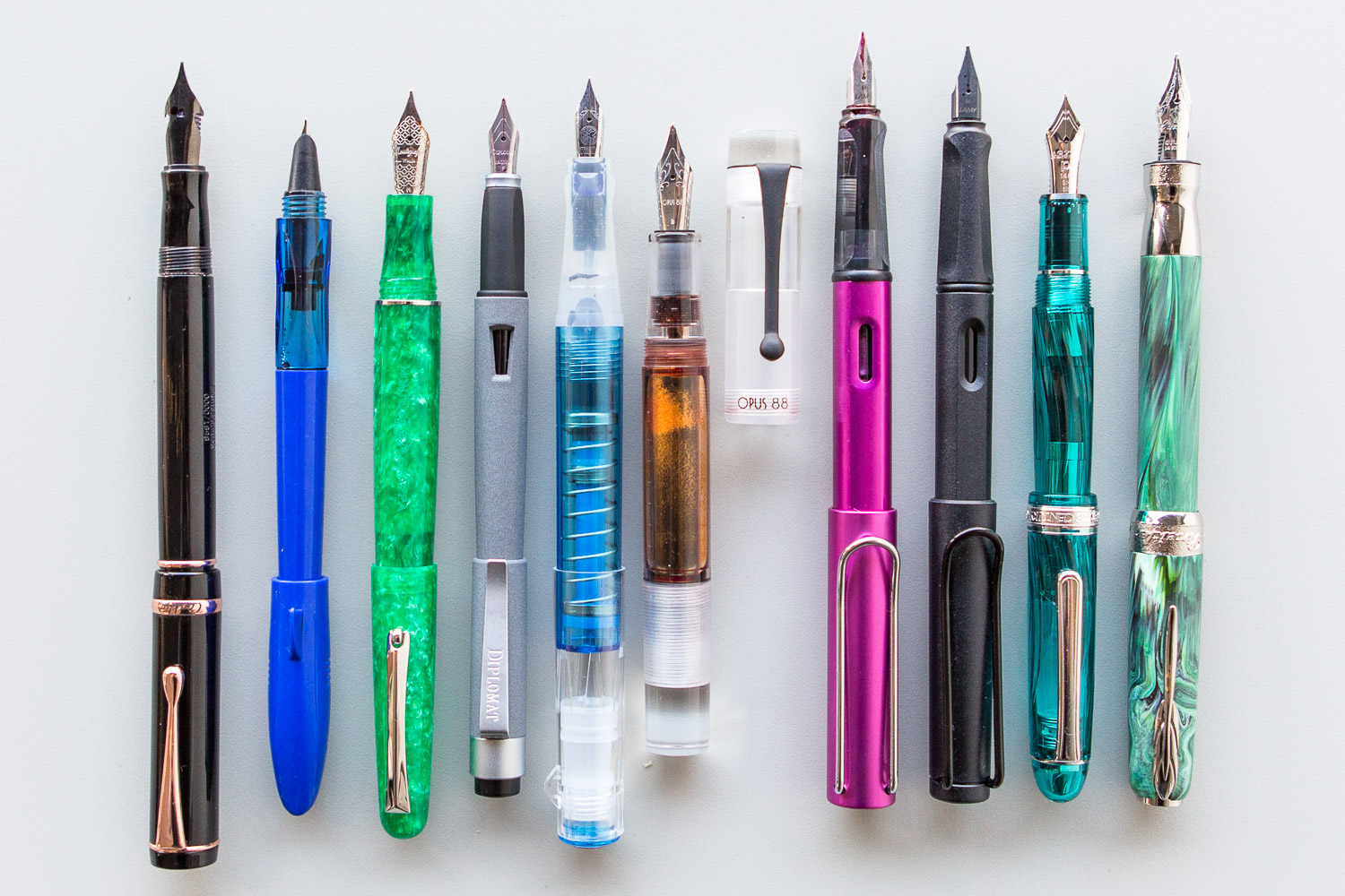 The 10 Hottest Fountain Pens of 2018