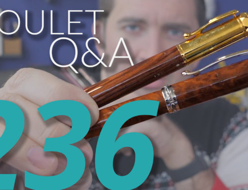 Goulet Q&A Episode 236: Hard Starting Pens, Featherweight Pens, and Toddler-Proof Pens!
