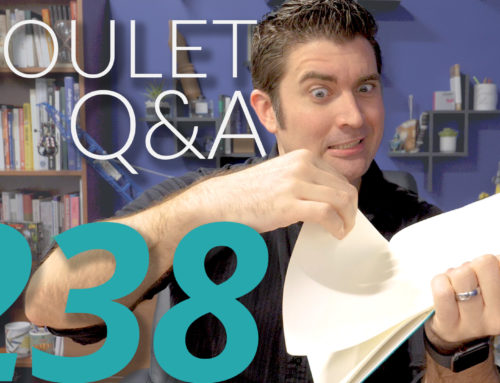 Goulet Q&A Episode 238: 7 Deadly Fountain Pen Sins, Restoring Old Found-In-Drawer Pens, and Pens in Film Scenes