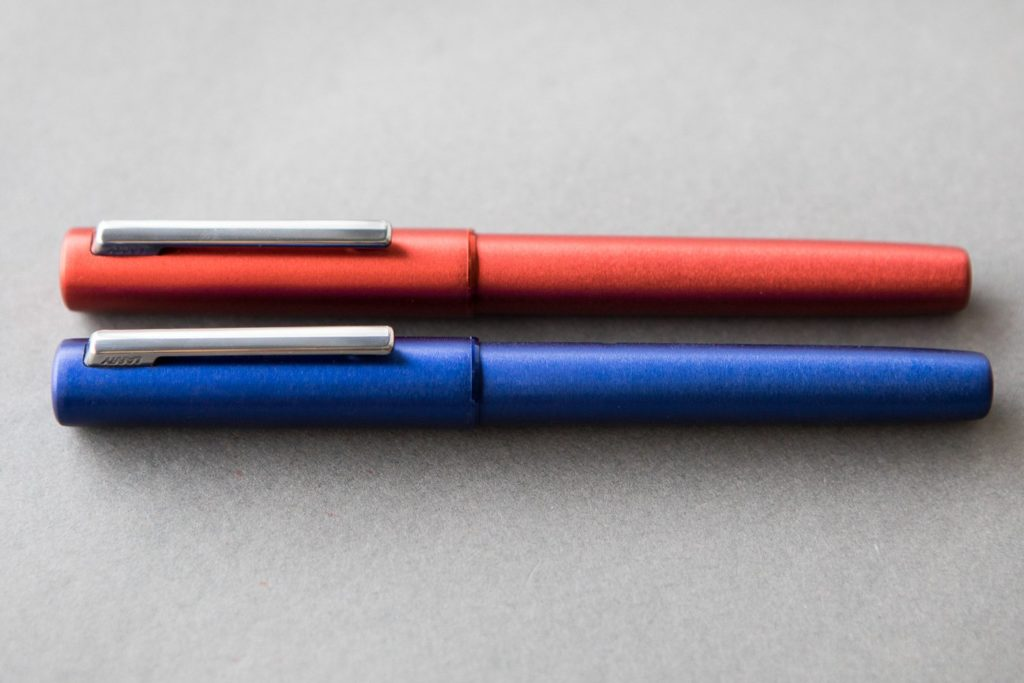 LAMY Aion Red and Blue Special Editions