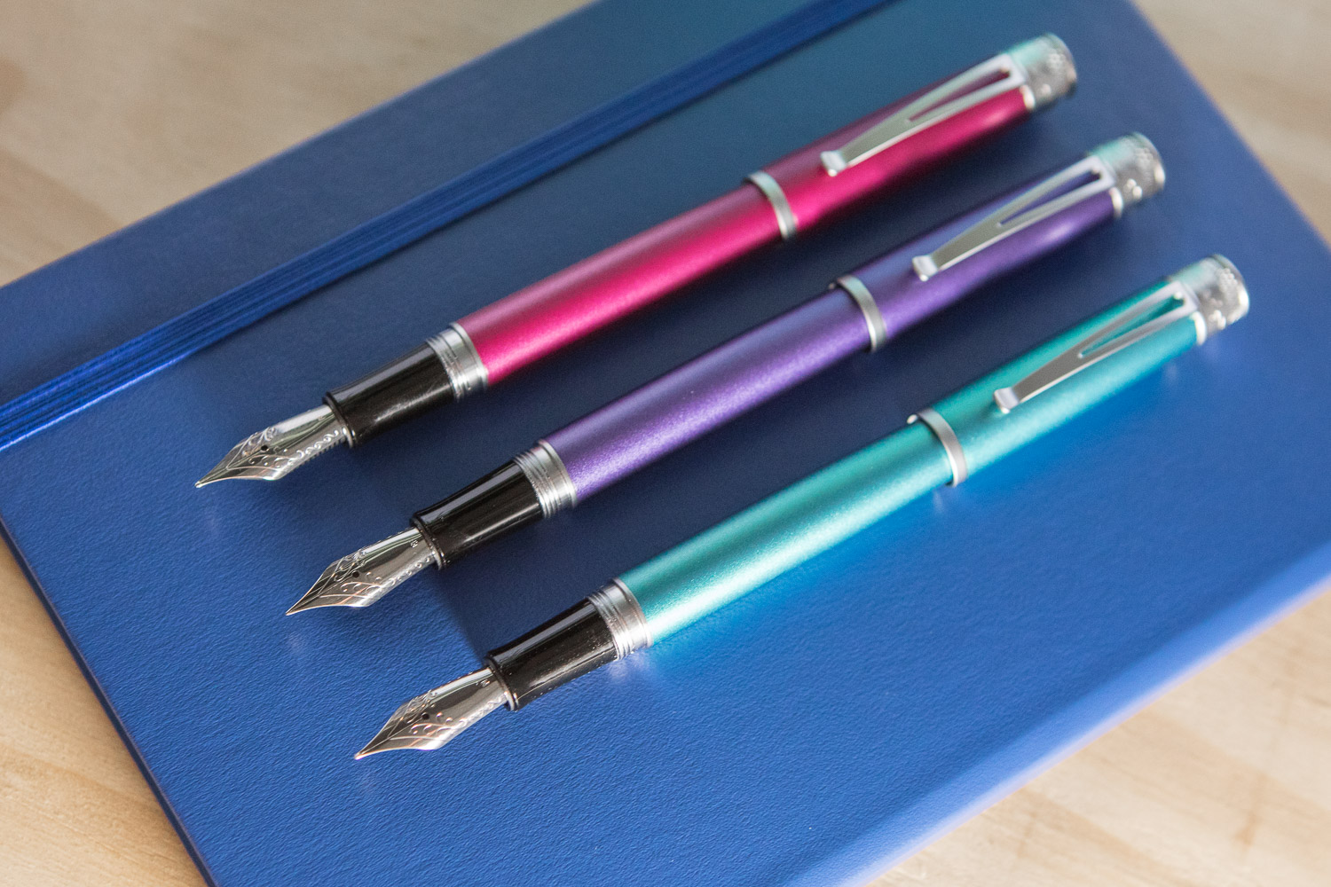 Retro 51 Fountain Pens and Rollerballs.