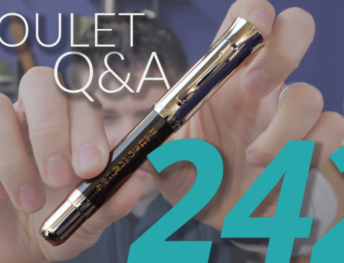 Goulet Q&A Episode 242: Budget Eyedropper Pens, Using 20 Pens At Once, and Pens That Dry Up