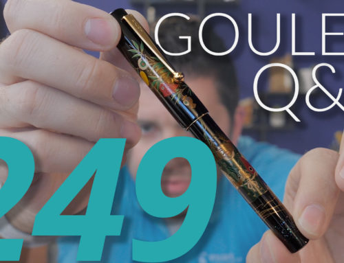 Goulet Q&A Episode 249: Pen Enthusiast Demographics, Most Popular Pen Color, and Which Pen Brian Would Revive From History!