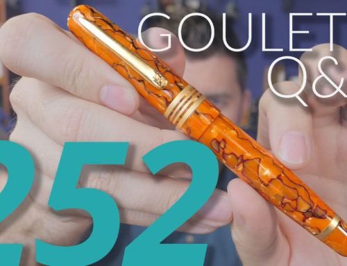 Goulet Q&A Episode 252, Cult of New, Defending Pen Costs to Strangers, and When Brian Will Fire A Customer