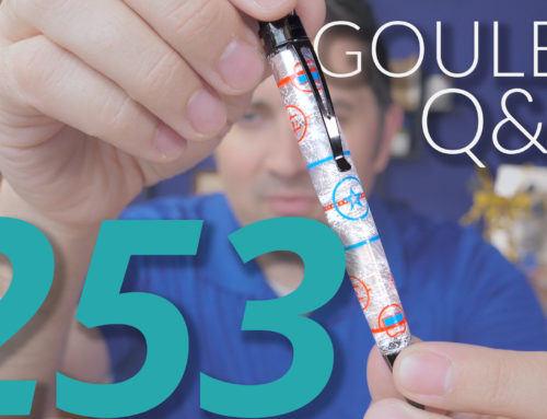 Goulet Q&A Episode 253: Urushi Pen Care, Easy Pens to Clean, Nib Smoothness